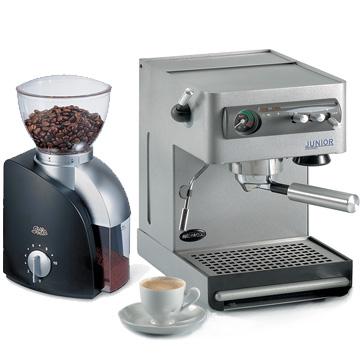 מעולה www.coffee-depot.co.il - מכונת אספרסו נמוקס ג'וניור + מטחנת קפה סקאלה ER-34